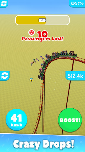 Hyper Roller Coaster screenshot 2