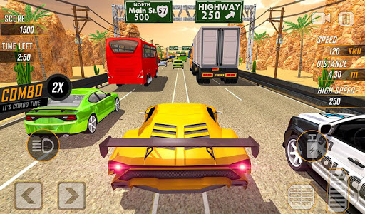 Racing in Highway Car 2018 screenshot 17