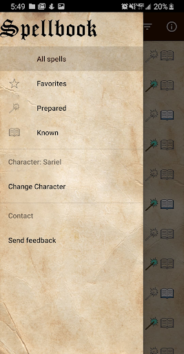 D&D Spellbook 5e screenshot 6