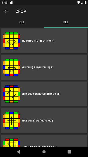 CubingApp screenshot 3