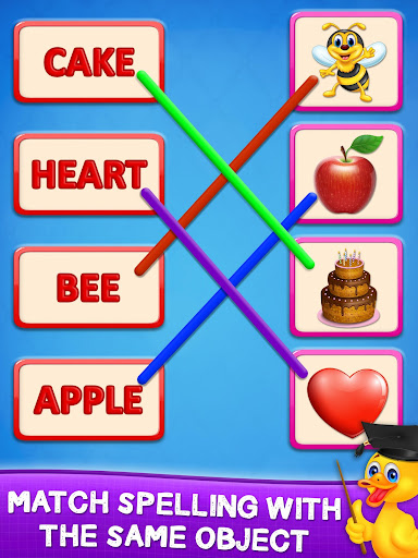 Matching Spelling And Object screenshot 1