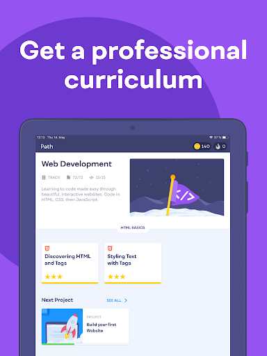Mimo: Learn coding in JavaScript, Python and HTML screenshot 12
