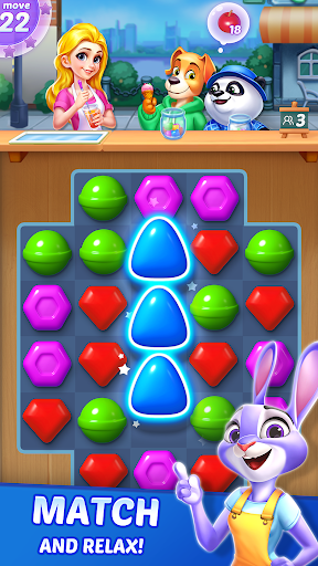 Candy Puzzlejoy screenshot 1