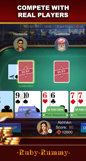 Ruby Rummy-Indian Online Free Card Game screenshot 4