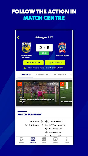 My Football Live App screenshot 3