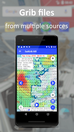 SailGrib Weather Routing Free screenshot 1