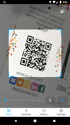 Free QR Code Reader & Barcode Scanner screenshot 1