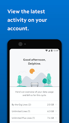 Spectrum Mobile Account screenshot 1
