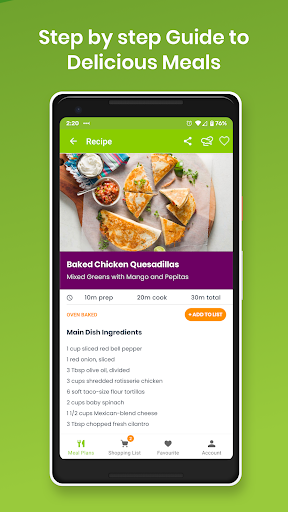 eMeals - Meal Planning Recipes & Grocery List screenshot 2