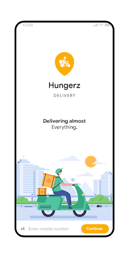 Hungerz Delivery Template screenshot 2