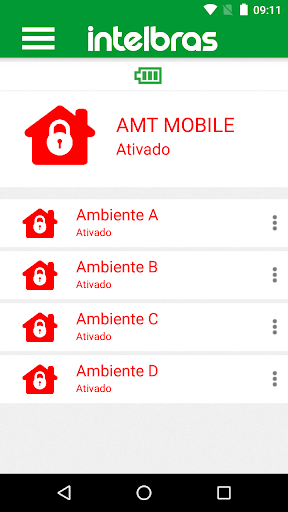 Intelbras AMT MOBILE V3 screenshot 2