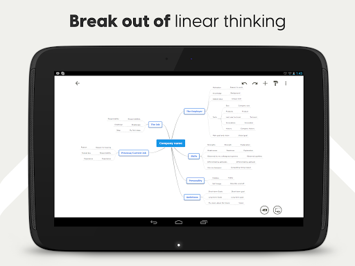 Mind Map & Concept Map Maker - Mindomo screenshot 12