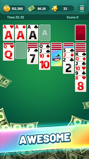Solitaire Puzzle Game screenshot 1