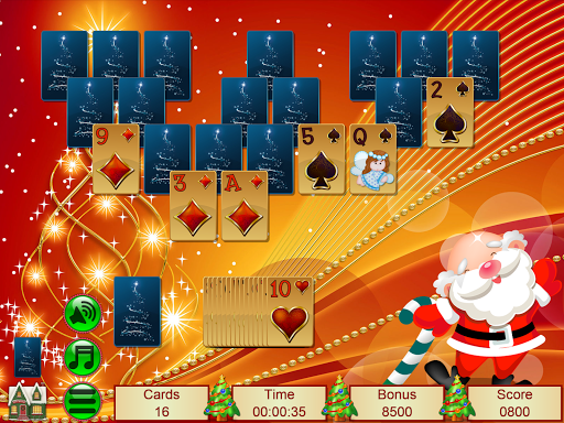 Xmas TriPeaks, card solitaire, tournament edition screenshot 20