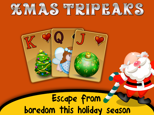 Xmas TriPeaks, card solitaire, tournament edition screenshot 9