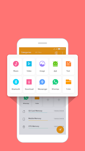 FileManager Pro free up space WhatsApp status save screenshot 4