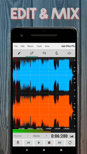WaveEditor for Android™ Audio Recorder & Editor screenshot 1