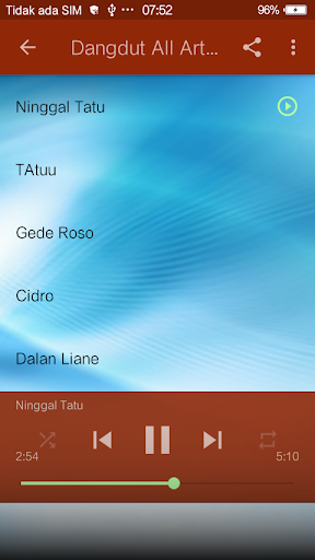 Dangdut Song screenshot 1