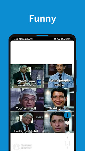 Meme.ly - Meme Sharing App screenshot 1