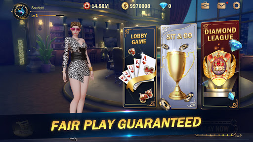 Hi Poker 3D:Texas Holdem screenshot 2