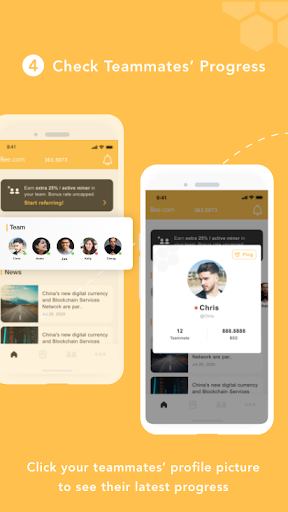 Bee Network:Phone-based Digital Currency screenshot 5