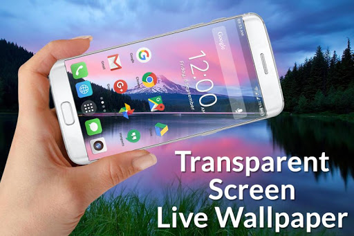Transparent Screen Live Wallpaper screenshot 1