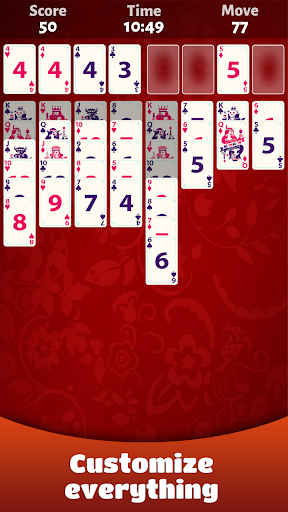 FreeCell Solitaire 屏幕截图 6