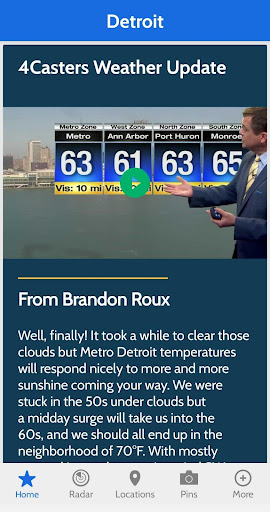 WDIV Local4Casters Weather screenshot 4
