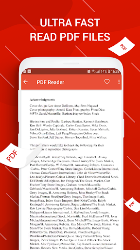 PDF Reader for Android screenshot 1