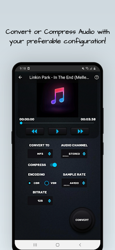 MP4, MP3 Video Audio Cutter, Trimmer & Converter screenshot 5