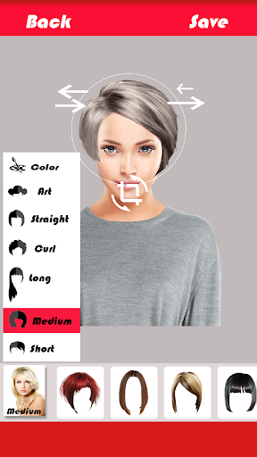 Change Hairstyle screenshot 11