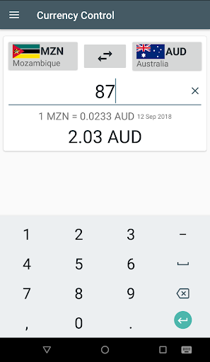 Currency Control-THE Converter screenshot 3