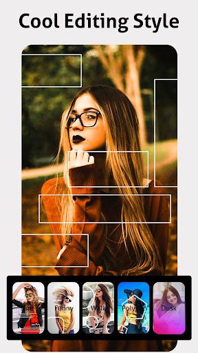 Slideshow Photo video maker with music - Particle screenshot 1