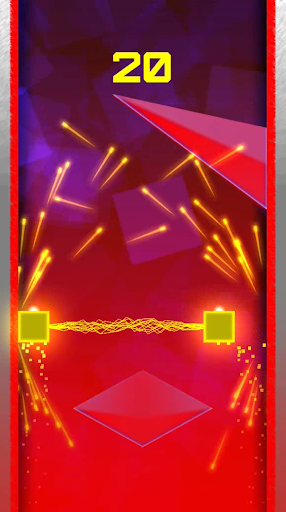 Geometry double square red land screenshot 6