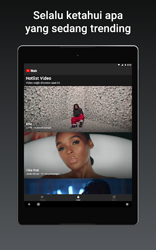 YouTube Music - Streaming Lagu & Video Musik tangkapan layar 9