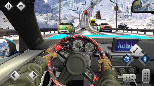 Highway Driving Car Racing Game screenshot 4