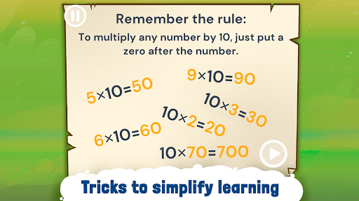 Engaging Multiplication Tables screenshot 1
