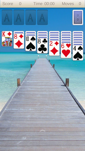 Solitaire card game 屏幕截图 2