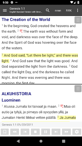 Bible Study app, by And Bible Open Source Project tangkapan layar 1