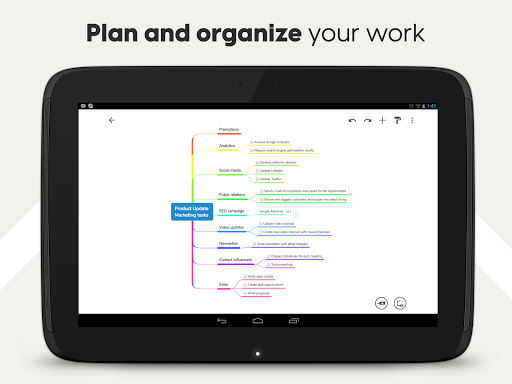 Mind Map & Concept Map Maker - Mindomo screenshot 13