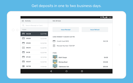 Square Point of Sale - POS screenshot 2