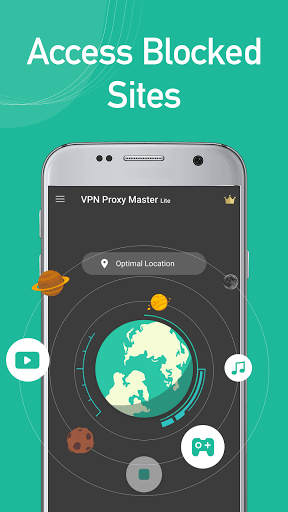 VPN Proxy Master lite screenshot 1