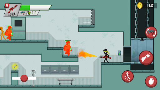 Stickman vs Zombies screenshot 7