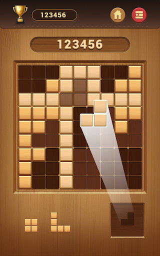 Wood Block Sudoku Game -Classic Free Brain Puzzle screenshot 19