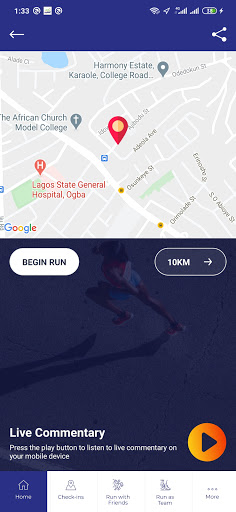 Lagos Women Run screenshot 4