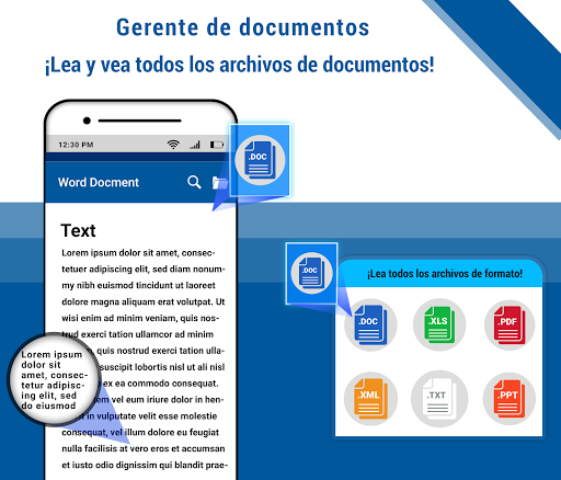gestor de documentos-lea todos sus documentos en captura de pantalla 1
