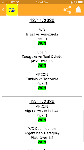 TODAY'S 2+ ODDS screenshot 6