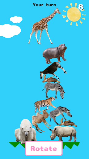 AnimalTower Battle screenshot 4