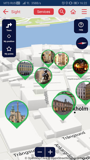 Stockholm city guide screenshot 4