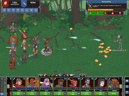 Idle Champions of the Forgotten Realms screenshot 6